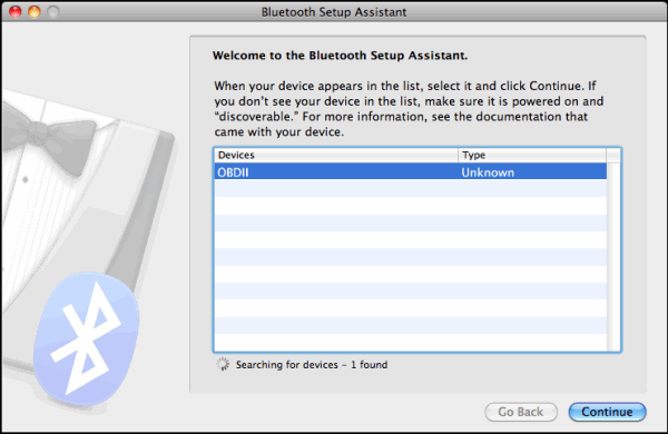 Bluetooth Setup Assistant 1