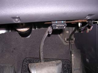where is obd port found