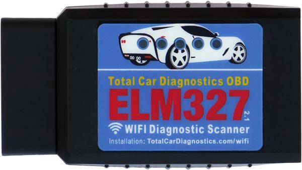 elm327 WIFI OBD2 OBDII reader