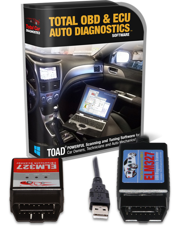 TOAD OBD II Software