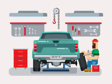 How to prepare your car for a long journey for Garage reparation auto