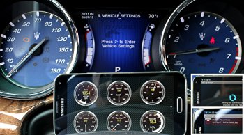 Most modern cars are compliant with the possibility of accommodating different car readers.