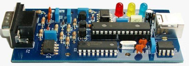 The ELM327 Programmed Microcontroller
