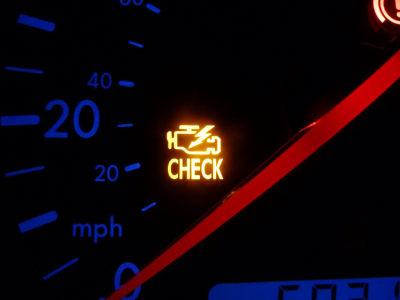 mil-check-engine-light-on-car