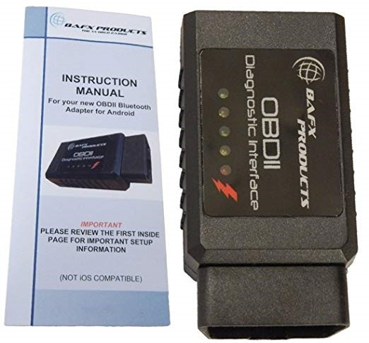 2. BAFX Products Bluetooth 34t5 OBD-II Scan Tool