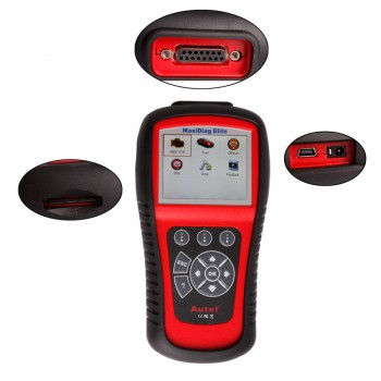 Autel MD802 MaxiDiag Scanner (All OEM Systems): For OBD-II / OBD-I Vehicles