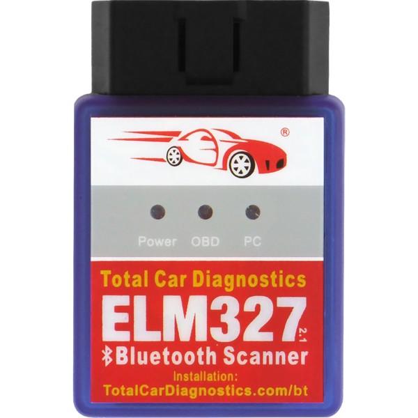 ELM327 Bluetooth Auto Diagnostic Scanner: OBD Scan Tool for OBD2