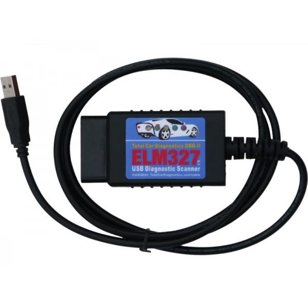 elm327 usb auto diagnostic scanner obd scan tool for obd2 obdii cars vans trucks. Black Bedroom Furniture Sets. Home Design Ideas