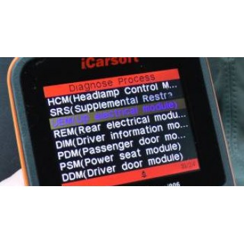 iCarsoft i850 Asian Cars Diagnostics Scanner for 1996+ Vehicles (OBD2, EOBD, JOBD, JDM)