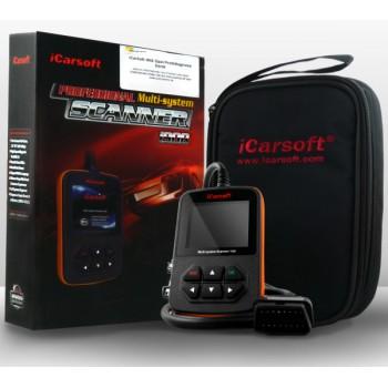 iCarsoft i908 Audi, VW, SEAT & Skoda Diagnostics Scanner for 1991+ Cars (OBD2, OBD1, EOBD)