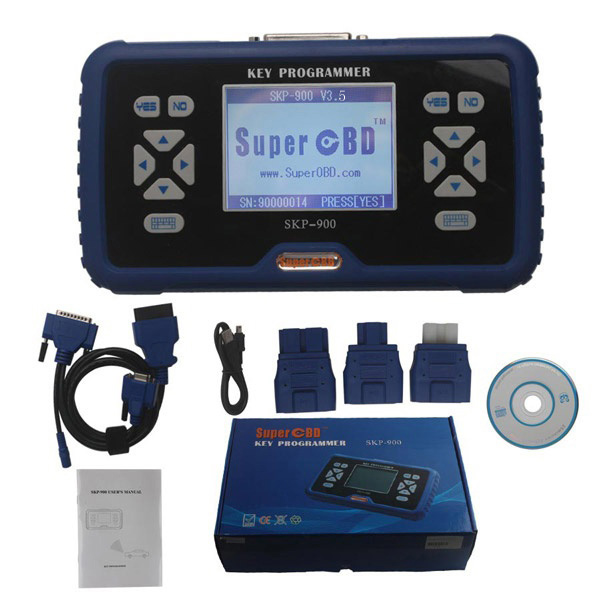 Skp 900 Car Key Transponder Programmer Skp900 Ultimate