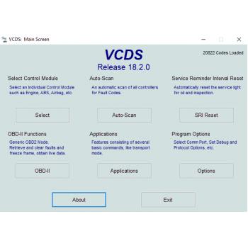 VAGCOM 18.2 USB Cable & VCDS 18.2 Original VAG-COM Software (Audi, Seat, Skoda, Volkswagen Cars)