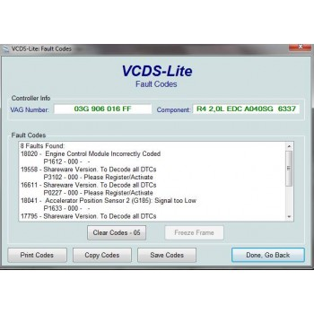 VAG-COM KKL 409.1 OBD2 Diagnostic Cable & VCDS Software (VW, AUDI, SEAT, SKODA)