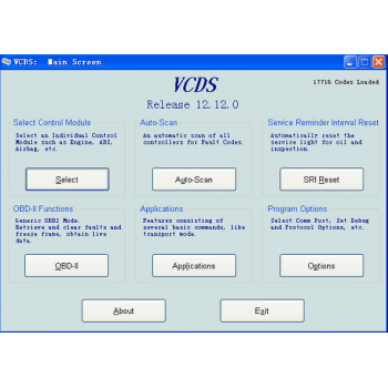 VAG-COM VCDS 2014 - OBD2 Diagnostic Cable & Software (for VAG Cars: VW, AUDI, SEAT, SKODA)