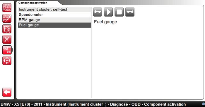 Instrument Clusture